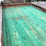 Plateforme zinc et étanchéité - Réparation