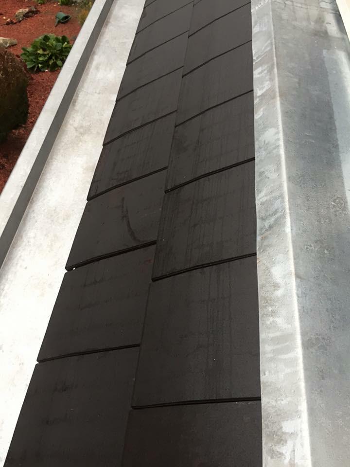 Finition réparation toiture zinguerie